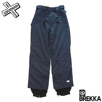 "Brekka bka #'gun' snowboard #trousers grey ski salopettes adjustable 26"" #waist n,  View more on the LINK: http://www.zeppy.io/product/gb/2/151171434869/"