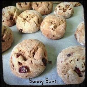 A #Thermomix #recipe for super easy #chocolate and fruit #buns!