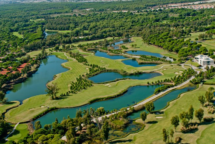 Antalya Golf Club in Belek, Turkey