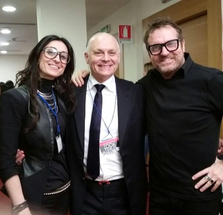 """With Roberto Guarducci - Art Director of """"The Look of The Year"""""""