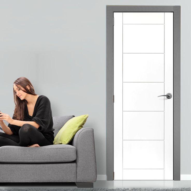 Limelight Apollo White Primed Flush Door & 69 best JB Kind Doors images on Pinterest   Flush doors Oak doors ...