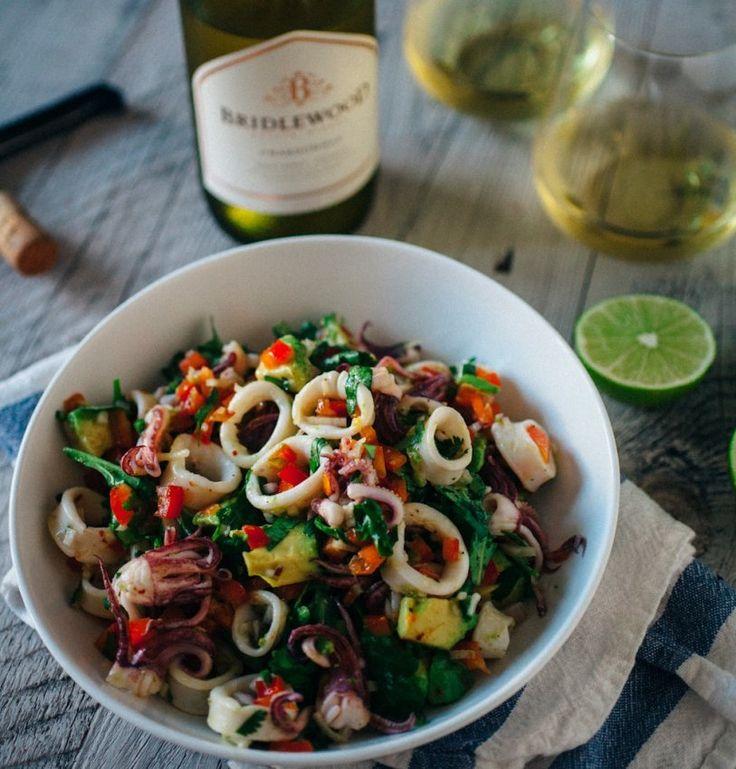 Summer Squid Salad Recipe   Food Republic