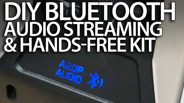 #DIY #bluetooth handsfree kit & #A2DP #music streaming in your #car #wireless