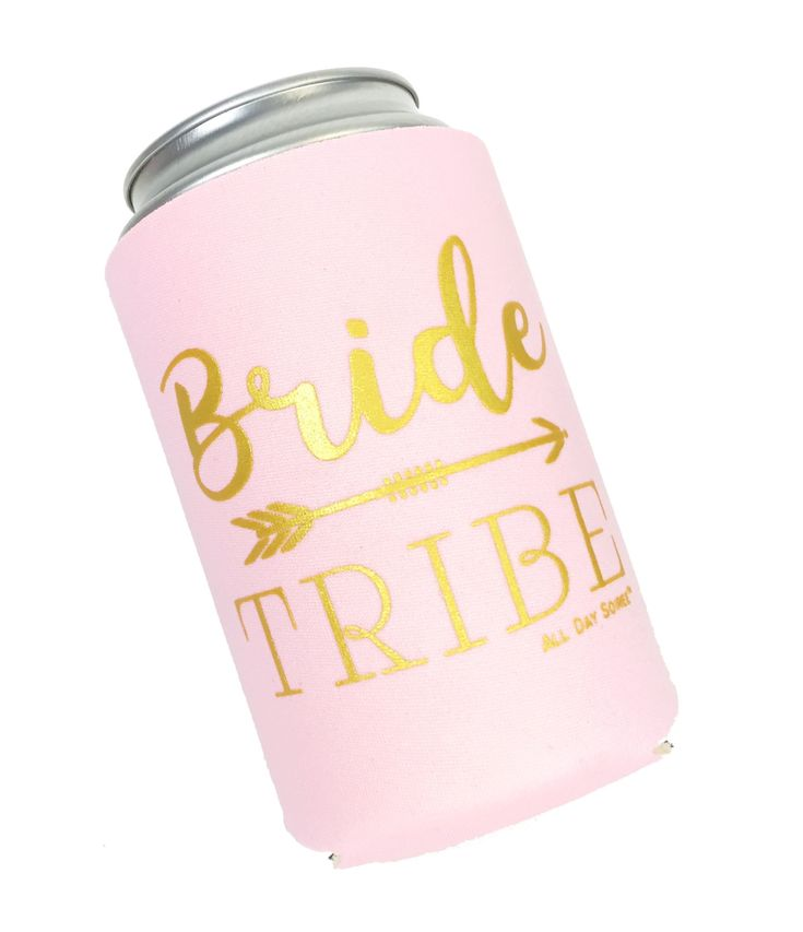 Bride tribe 11 pack bachelorette party favor can coolers