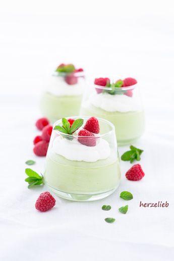 Einfaches Rezept für ein Avocado Zitronen Dessert. Ganz leicht und einfach zuzubereiten