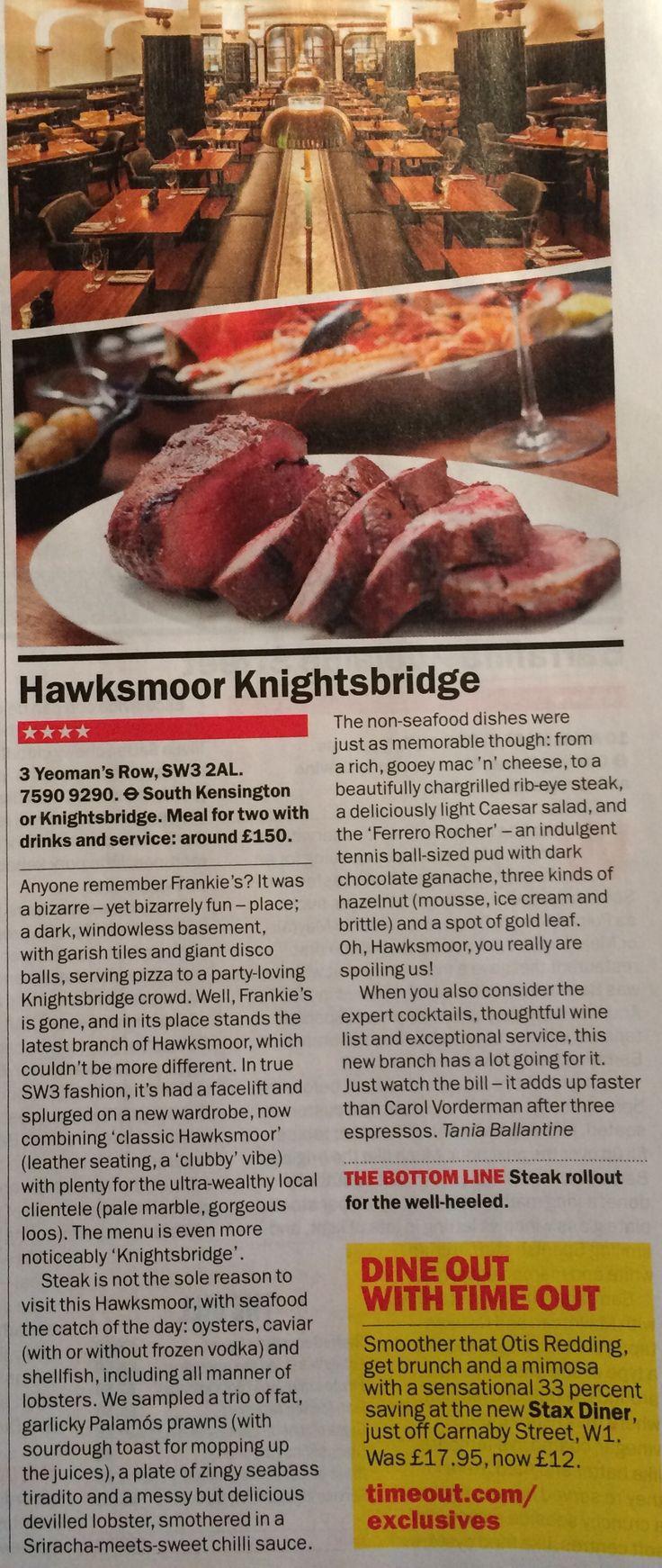Hawksmoor Knightsbridge #hawksmoor #knightsbridge #London #hawksmoorknightsbridge #steak