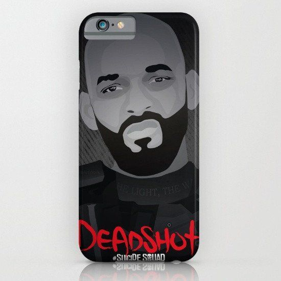 Batman - Suicide Squad Deadshot Will Smith iphone case, smartphone