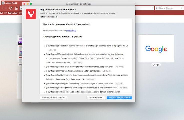 vivaldi-nueva-version-1 Vivaldi 1.7: Se actualiza el navegador con mejoras en la captura de pantalla