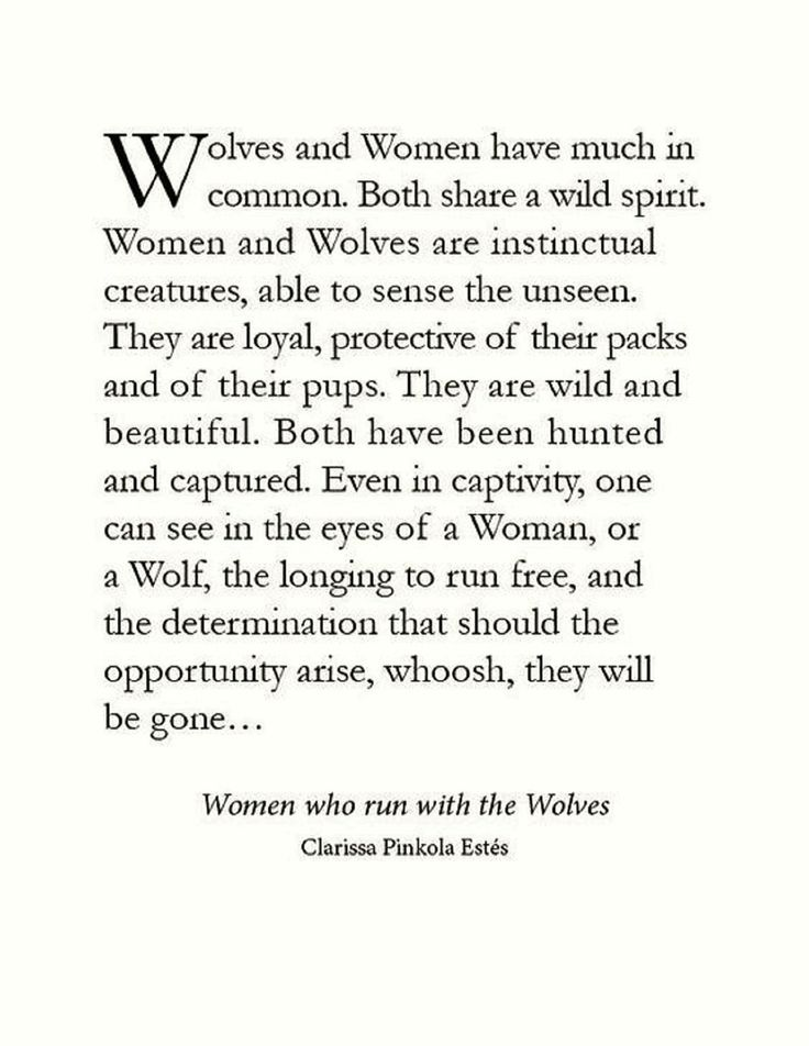 Wolves sayings.. yesss