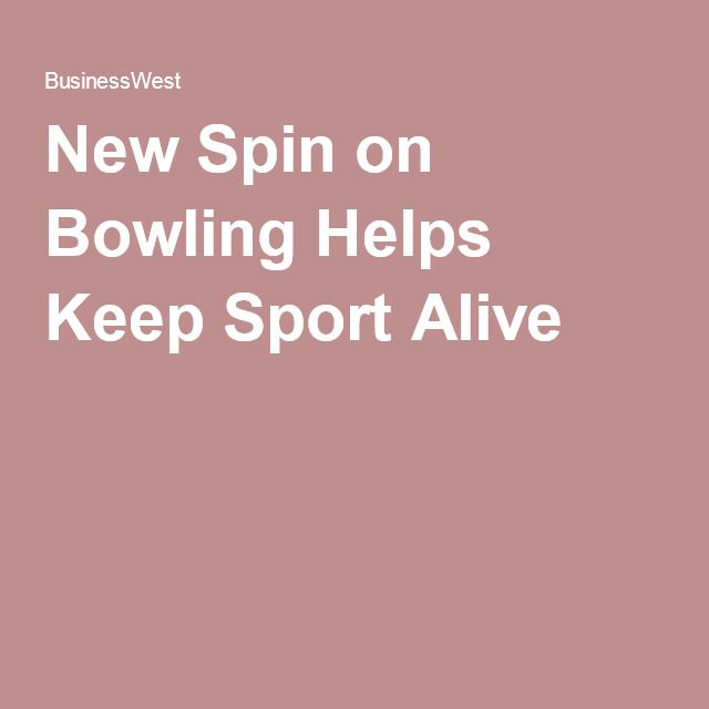 New Spin on Bowling Helps Keep Sport Alive. It's good exercise, a great date activity and an awesome activity for the whole family!