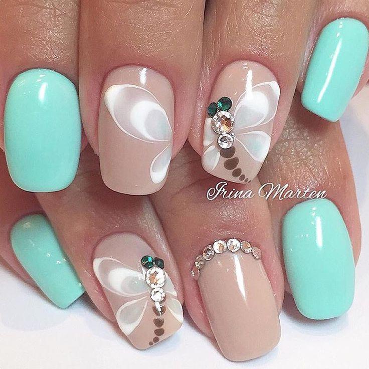 nails irinamarten beautiful dragonfly nails nail art i will attempt pinterest nagelschere. Black Bedroom Furniture Sets. Home Design Ideas
