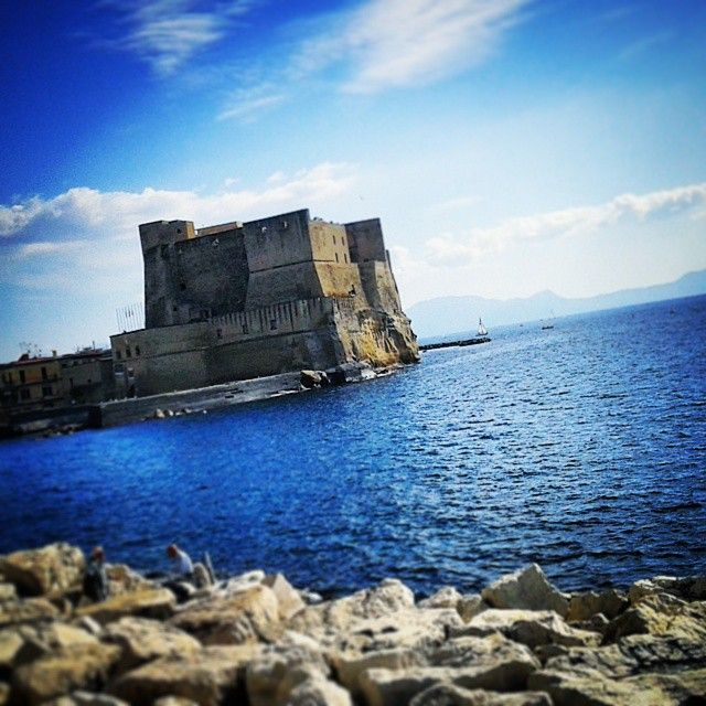 Castel dell'Ovo, Napoli, Italia