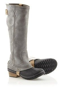 thank you sorel for making a decent looking waterproof boot that is not a hunter wellie. you will be mine, slimpack riding boot.