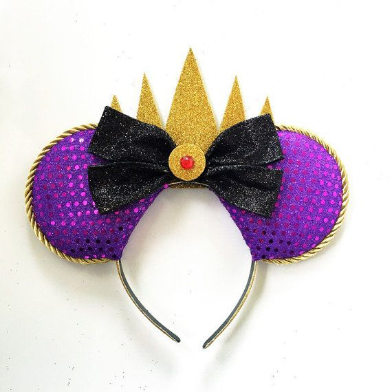Evil Queen Ears Snow White Evil Queen Ears by ToNeverNeverland