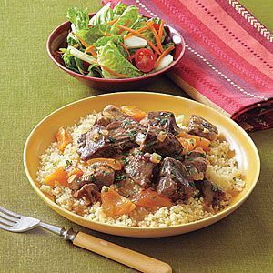 Moroccan Lamb and Apricot Stew from All You magazine