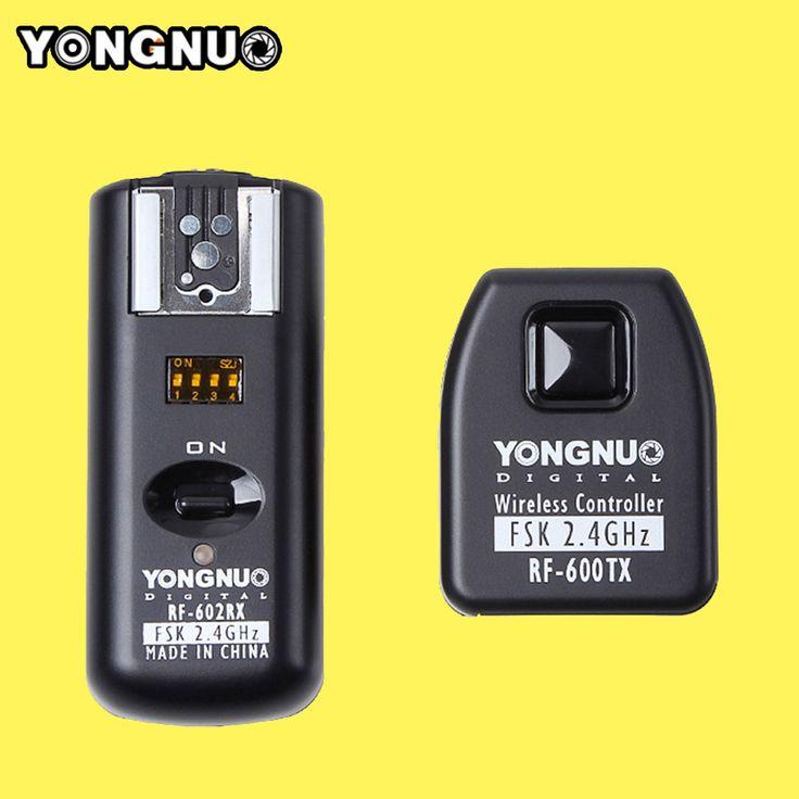 Yongnuo RF602 RF 602 C 2.4 ГГц Беспроводной Пульт Дистанционного Flash Триггера Приемопередатчик для Canon 1100d/1000d/600d/550d/500D/450D/400D купить на AliExpress