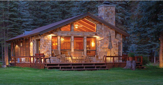 Beautiful Cabin With Awesome Rustic Interior Log Cabin Rustic Beautiful Cabins Rustic House