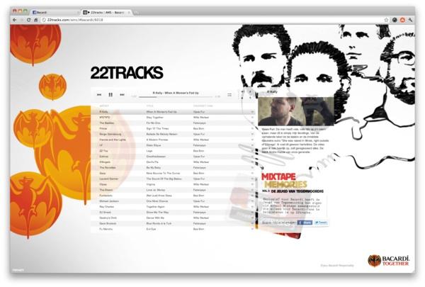 22 tracks