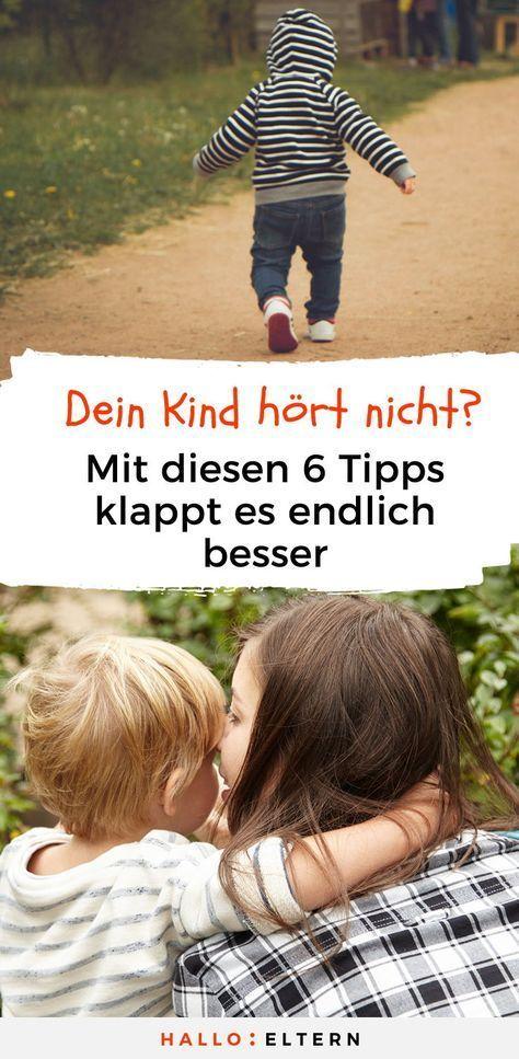 6 Tipps, damit dein Kind dir endlich besser zuhört