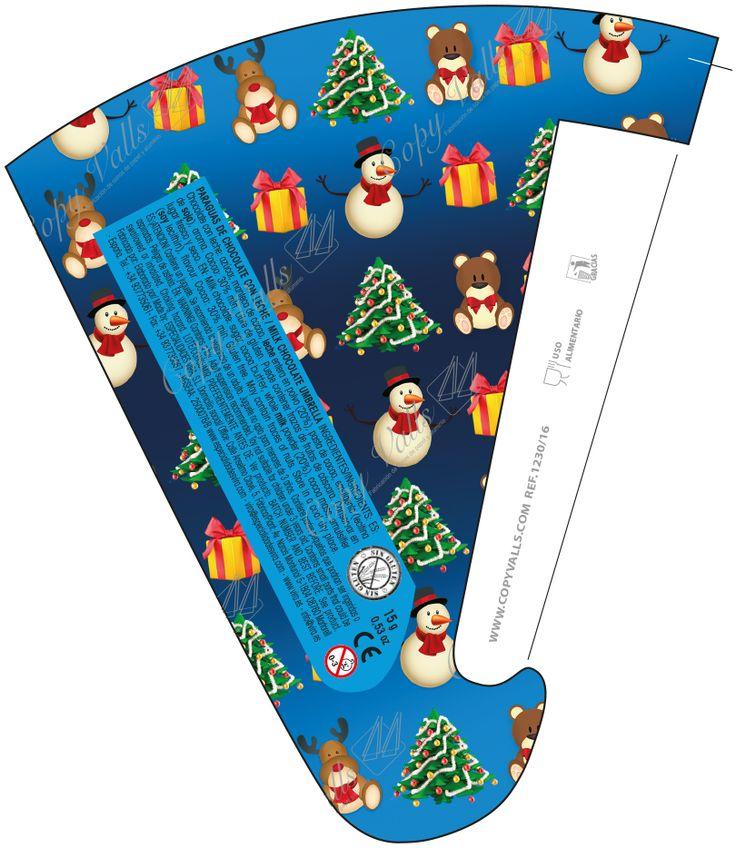 Milk Chocolate Umbrella. By Especialidades Vira (Spain). Special Christmas