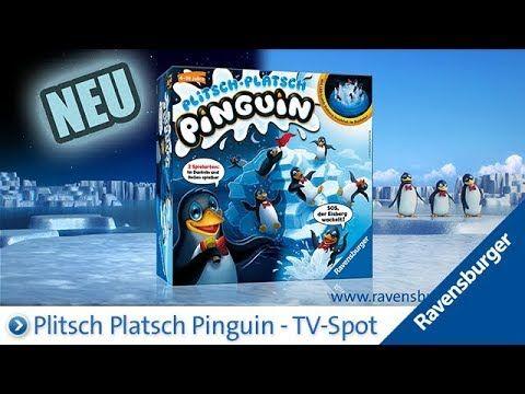 Ravensburger Plitsch Platsch Pinguin - TV-Spot