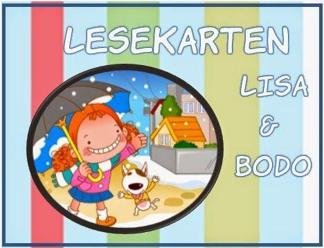 Mrs. Sandy: Lesekarten Lisa & Bodo