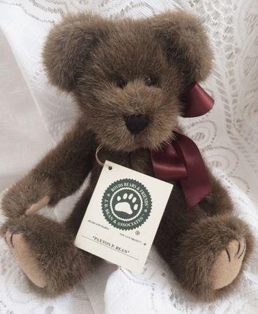 Boyds Bears Paxton P. Bean Plush Bear
