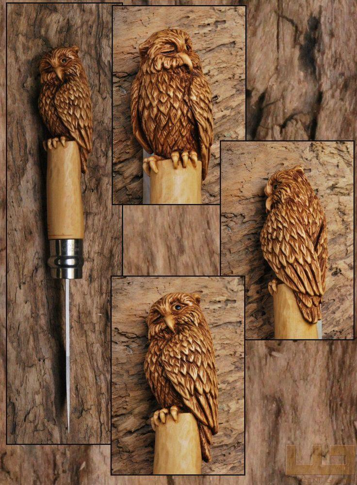 Gerdil Лоран - Скульптура - Животные Opinel № 8 самшит ручка