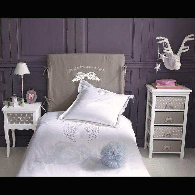 5 cabeceros de cama económicos para hacer en casa: Cabecero de cama de madera tapizada