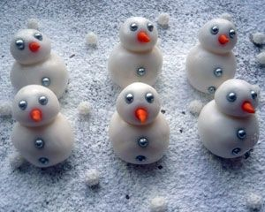 Peppermint snowmen!