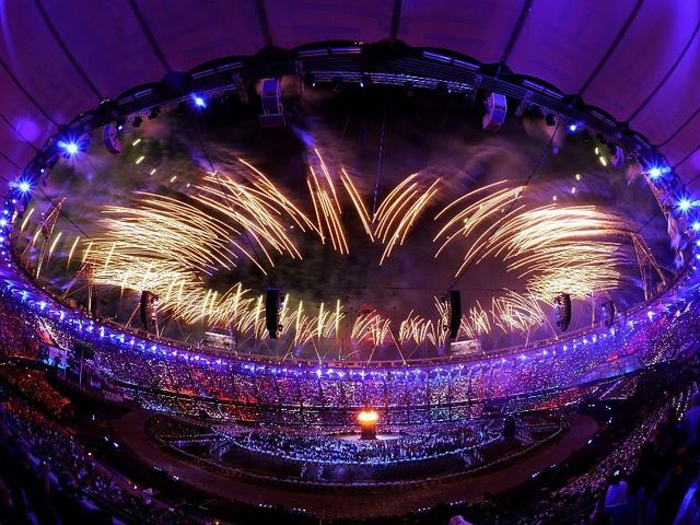 London 2012 Eröffnungszeremonie der Olympischen Spiele
