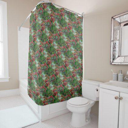 Best 25+ Red shower curtains ideas on Pinterest Red bathroom