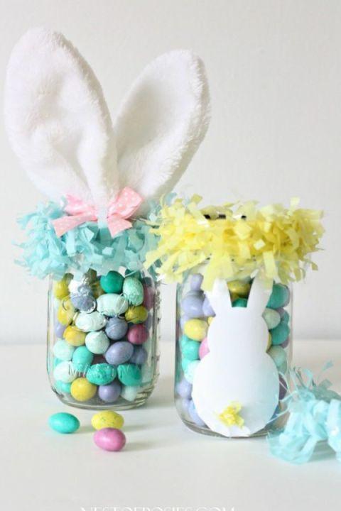 56 best mason jars easter images on pinterest easter crafts 38 super cute easter basket ideas negle Gallery
