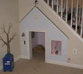 sweet little space for BeanPlays House, Dogs House, Cute Ideas, Playhouses, Dog Houses, Understairs, Under Stairs, Kids, Plays Area