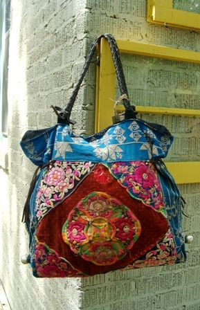 Absolutely Abigails - Handbags - Yabo D Hilltribe Bag