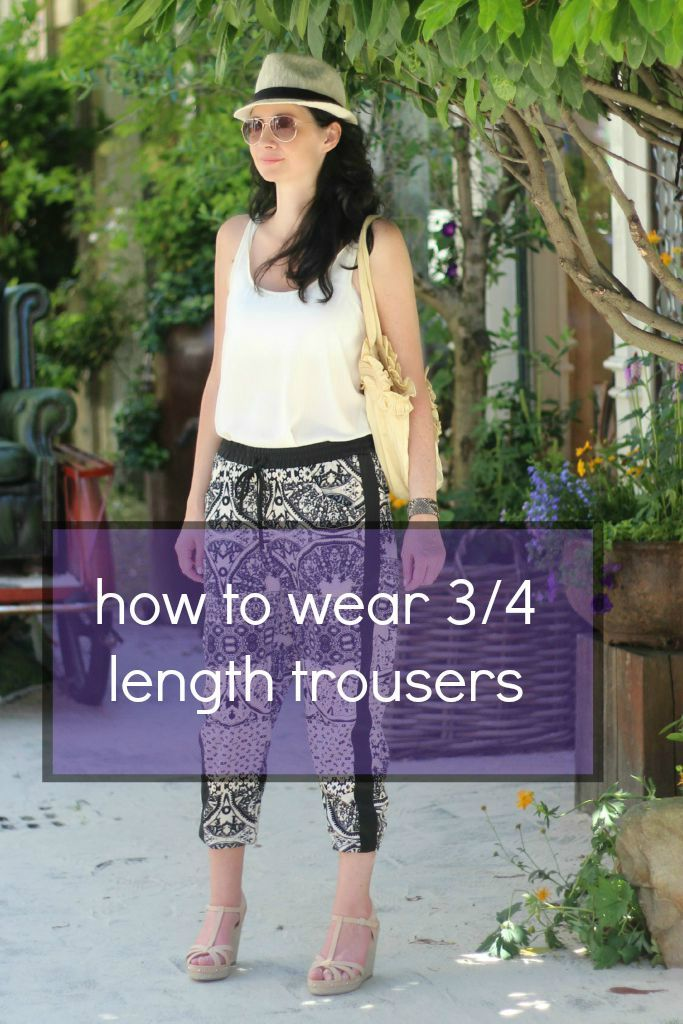 3/4 Length Joggers: Top Tips