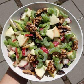 Deze gezonde waldorfsalade is nét een tikje beter dan de standaard waldorfsalade!