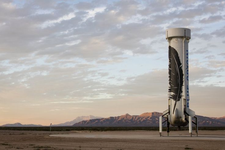 Called New Shepard, Blue Origin's rocket system is suborbital — meaning it can only get a ship to the edge of space (roughly 62 miles above Earth).