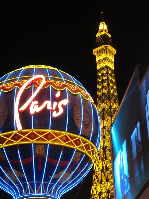 Free Photo: Las Vegas, Strip, Paris Hotel - Free Image on Pixabay - 202496