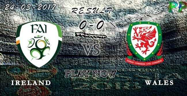 VIDEO Ireland 0 - 0 Wales HIGHLIGHTS 24.03.2017 | PPsoccer