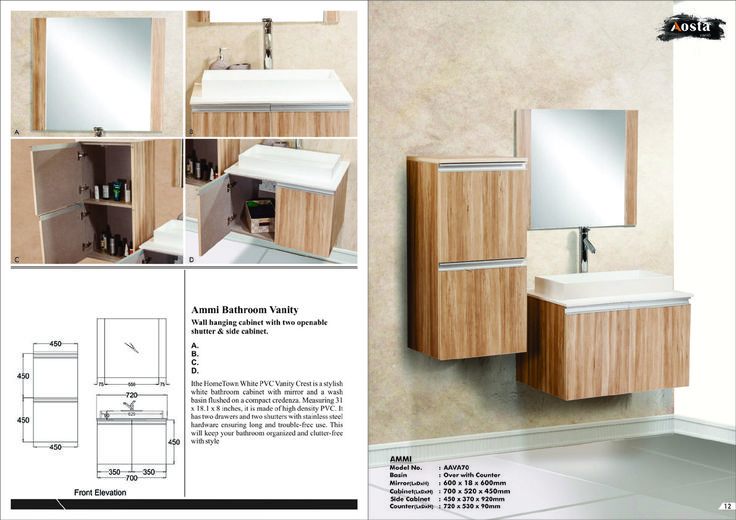 Aosta Modular and luxury Vanity for more information visit our website