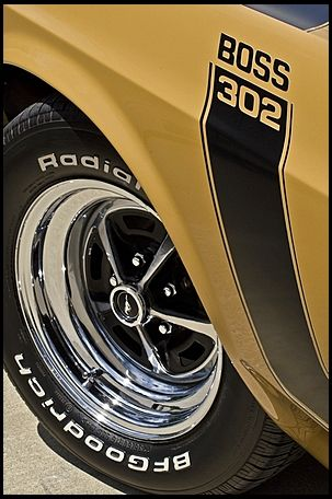 1970 Ford Mustang Boss 302 Fastback Dual Quad 302/290