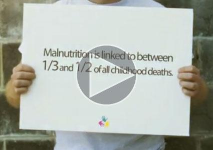 Mannatech is taking on global malnutrition through their 'Give for Real' donation through consumption program.