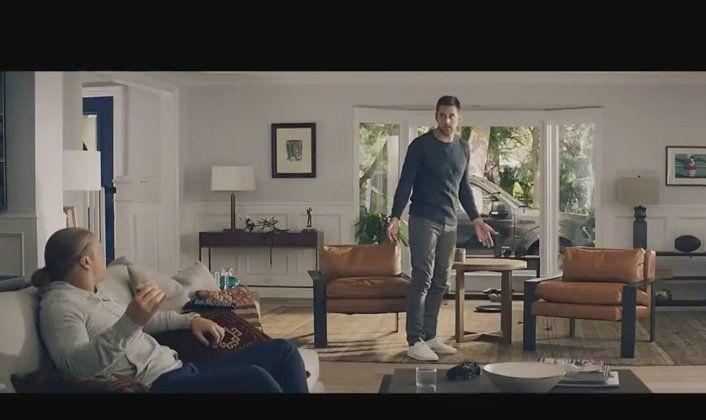 Aaron Rodgers on Set for New State Farm Commercial -- It's dead season for NFL players. The time between OTAs and training camp. That means it's time for Aaron Rodgers to shoot some commercials.