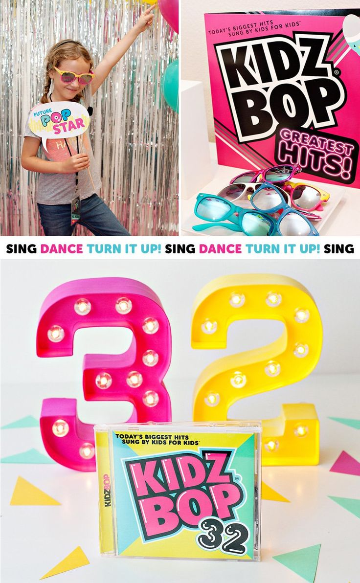 12 best Party ideas Kidz Bop images on Pinterest | Birthday party ...