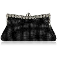 evening clutch whit crystals