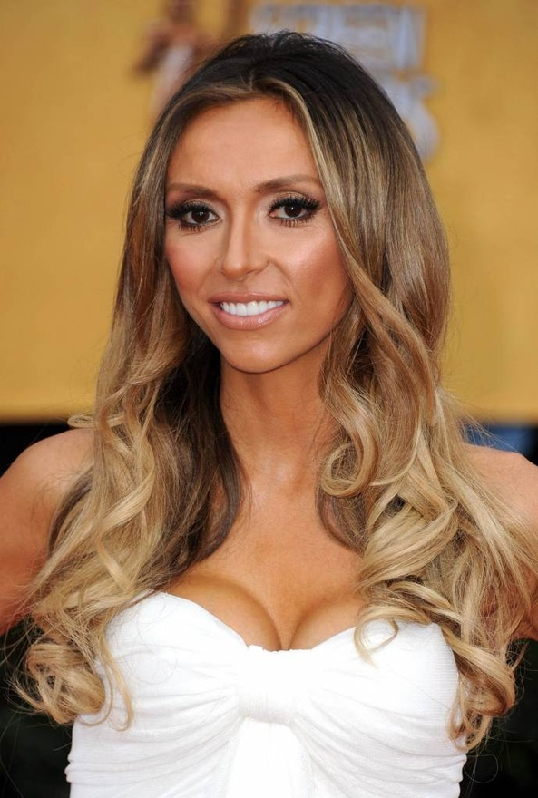 Giuliana has a beautiful Ombre hair-i-m-obsessed