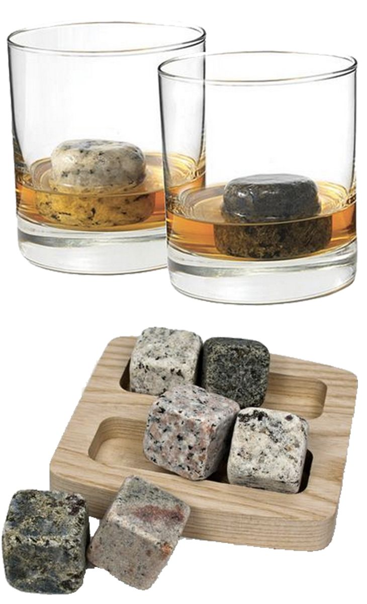 Whiskey stones are 100 times better than ice. No more watered down drinks.