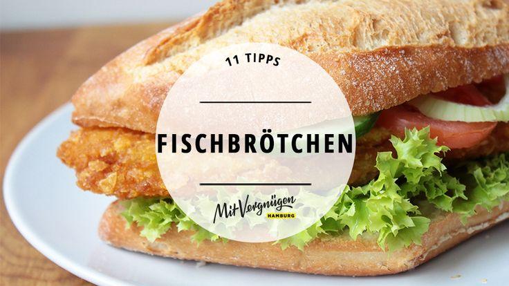In der Not, ess' ich Fisch auf Brot.