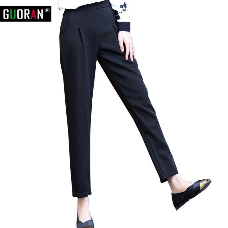 Casual harem pants women suit pants & capris patchwork office loose high waist pantalon femme pantalones mujer female trousers  #Affiliate